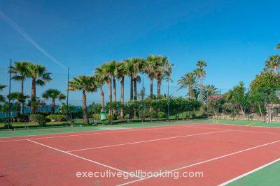 Estival Torrequebrada Hotel tennis court